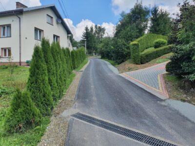 Przebudowa drogi w Lubatowej