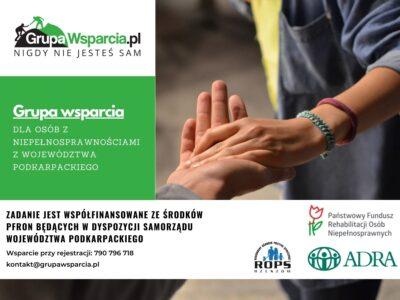 Rusza program bezpłatnej pomocy psychologiczno-prawnej dla osób niepełnosprawnych z województwa podkarpackiego