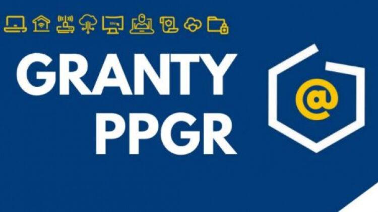 """Cyfrowa Gmina – Wsparcie dzieci z rodzin pegeerowskich w rozwoju cyfrowym – """"Granty PPGR"""""""